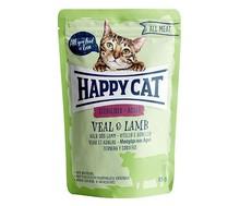 HAPPY CAT All Meat Sterilised Adult Veal & Lamb - mokra karma dla kota