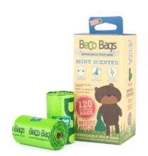 BECO Bags - ekologiczne woreczki miętowe na nieczystości 120 szt.
