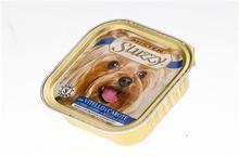 STUZZY Cielęcina i marchewka mokra karma dla psa, tacka 150g