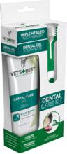 VET'S BEST Zestaw Pasta + szczoteczka do zębów dla psa