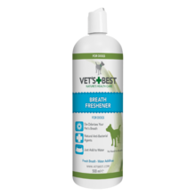 VET'S BEST Breath Freashener Płyn do higieny jamy ustnej 500ml