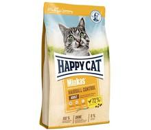 HAPPY CAT Minkas Hairball Control - sucha karma dla kotów 10kg