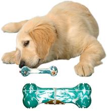 KONG PUPPY Goodie Bone- behawioralna zabawka w kształcie kości dla szeniaków
