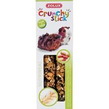 ZOLUX Crunchy Stick - kolby dla świnki morskiej, orzech ziemny i owies