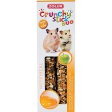 ZOLUX Crunchy Stick - kolby dla chomika, jabłko i jajko