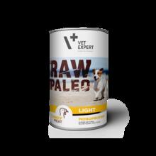 VETEXPERT Raw Paleo Light Turkey mokra karma dla psa puszka 400g