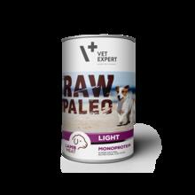 VETEXPERT Raw Paleo Light Lamb mokra karma dla psa puszka 400g
