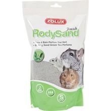 ZOLUX Rody Sand - Piasek do kąpieli szynszyli i koszatniczek, 2 L zielona herbata