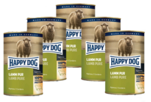 HAPPY DOG Lamm Pur PAKIET 10x400g - 100% Jagnięcina - mokra karma dla psa