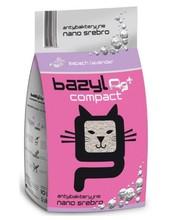 BAZYL Compact Lavender - zapachowy żwirek bentonitowy, zbrylający 5 L