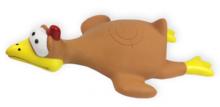 PET NOVA Kurczak w locie- zabawka winylowa dla psa, 26 cm
