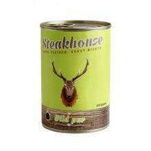 MEATLOVE Steakhouse Pure Game mokra karma dla psa 410g i 820g