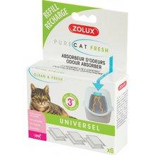 ZOLUX Pure Cat Fresh - pojemnik z wkładem pochłaniacz zapachów do kuwety na 3 miesiące