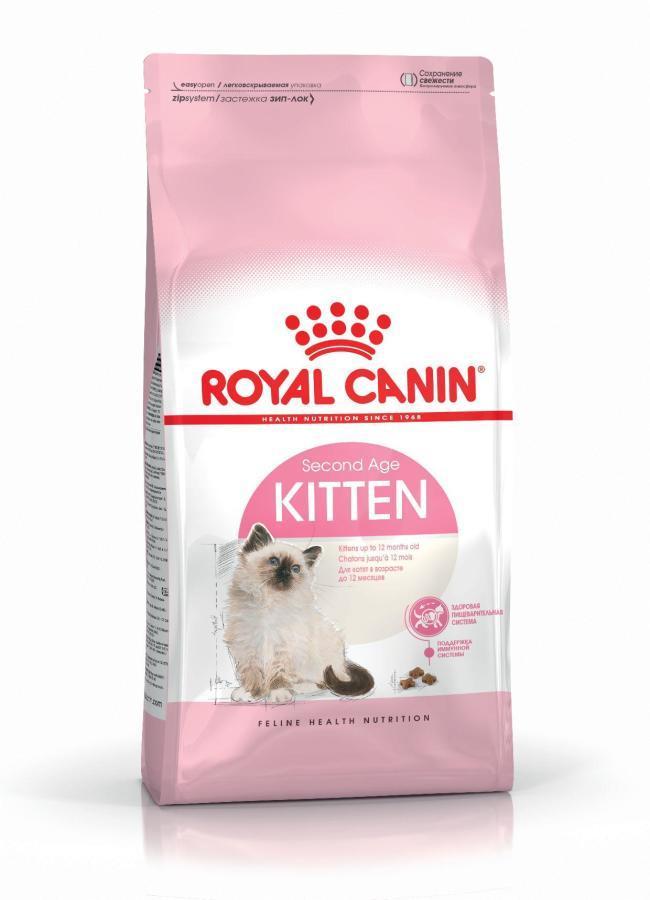 ROYAL CANIN Kitten - dla kociąt od 2 do 12 miesiąca życia