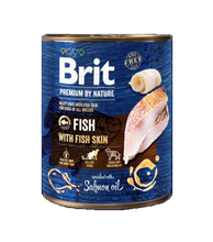 BRIT Premium by Nature Fish with Fish Skin mokra karma dla psa 400g i 800g