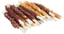 TRIXIE Gryzak Denta Fun  - Pałeczki Chewing Roll Mix, 12 cm/250 g