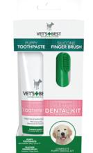 VET'S BEST Puppy Toothpaste Dental żel + szczoteczka
