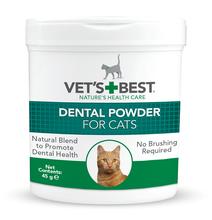 VET'S BEST Dental Powder Proszek Dentystyczny dla kotów 45g