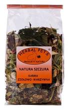 Herbal Pets Natura Szczura- karma ziołowo-warzywna 150g Polecana przez serwis www.szczury.org!