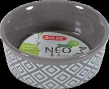 ZOLUX NEO - Miska gresowa dla gryzoni, małych psów i kotów, kolor szary