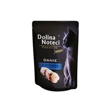 DOLINA Noteci Premium Danie z Dorsza z Sardynką dla młodych kotów, saszetka 85g