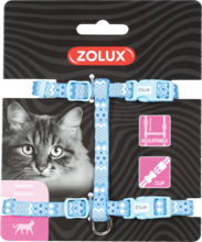ZOLUX Szelki dla kota Ethnic w kolorze niebieskim