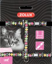 ZOLUX Szelki dla kota Arrow w kolorze czarnym