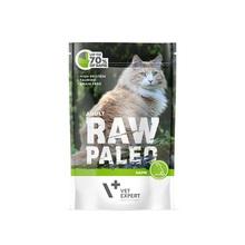VETEXPERT Raw Paleo Adult Dziczyzna mokra karma dla kotów, 100g
