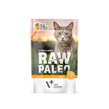 VETEXPERT Raw Paleo Sterilised Indyk mokra karma dla kotów, 100g