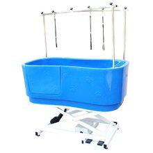 GroomStar - wanna z podnośnikiem elektrycznym, kolor niebieski