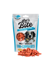 BRIT Let's Bite Meat Snacks Tuna & Codfish przysmak dla psa, 80g