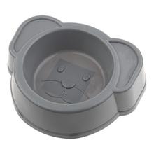 RECOFUN Miska Dog grey - Miska dla psa w kształcie głowy, szara