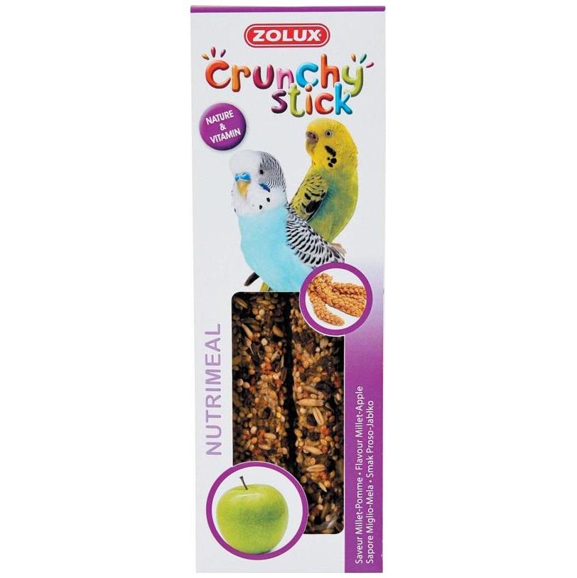 ZOLUX Crunchy Stick papuga mała orzech kokosowy/banan - kolby dla papug 85 g