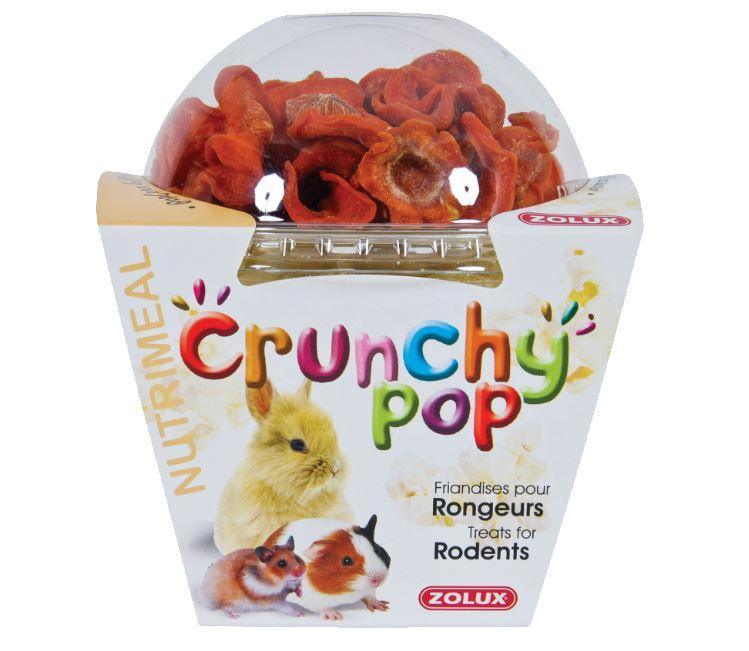 ZOLUX CRUNCHY POP Marchew - przysmak dla gryzoni i królików 43 g