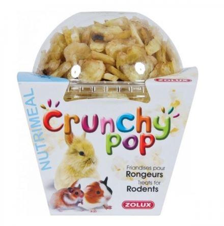 ZOLUX CRUNCHY POP Banan - przysmak dla gryzoni i królików 63 g