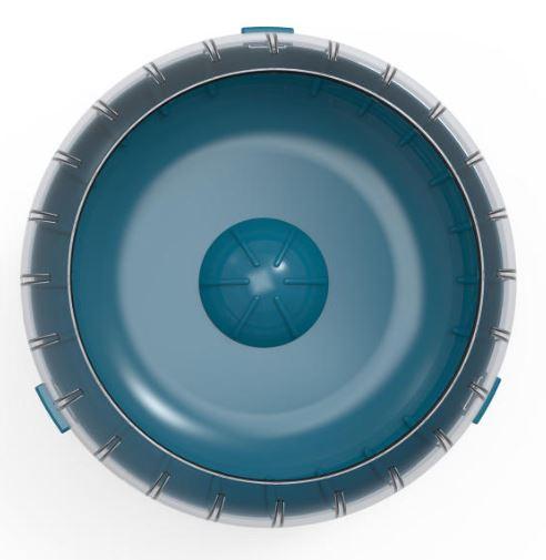ZOLUX Kołowrotek RODY3, kolor niebieski