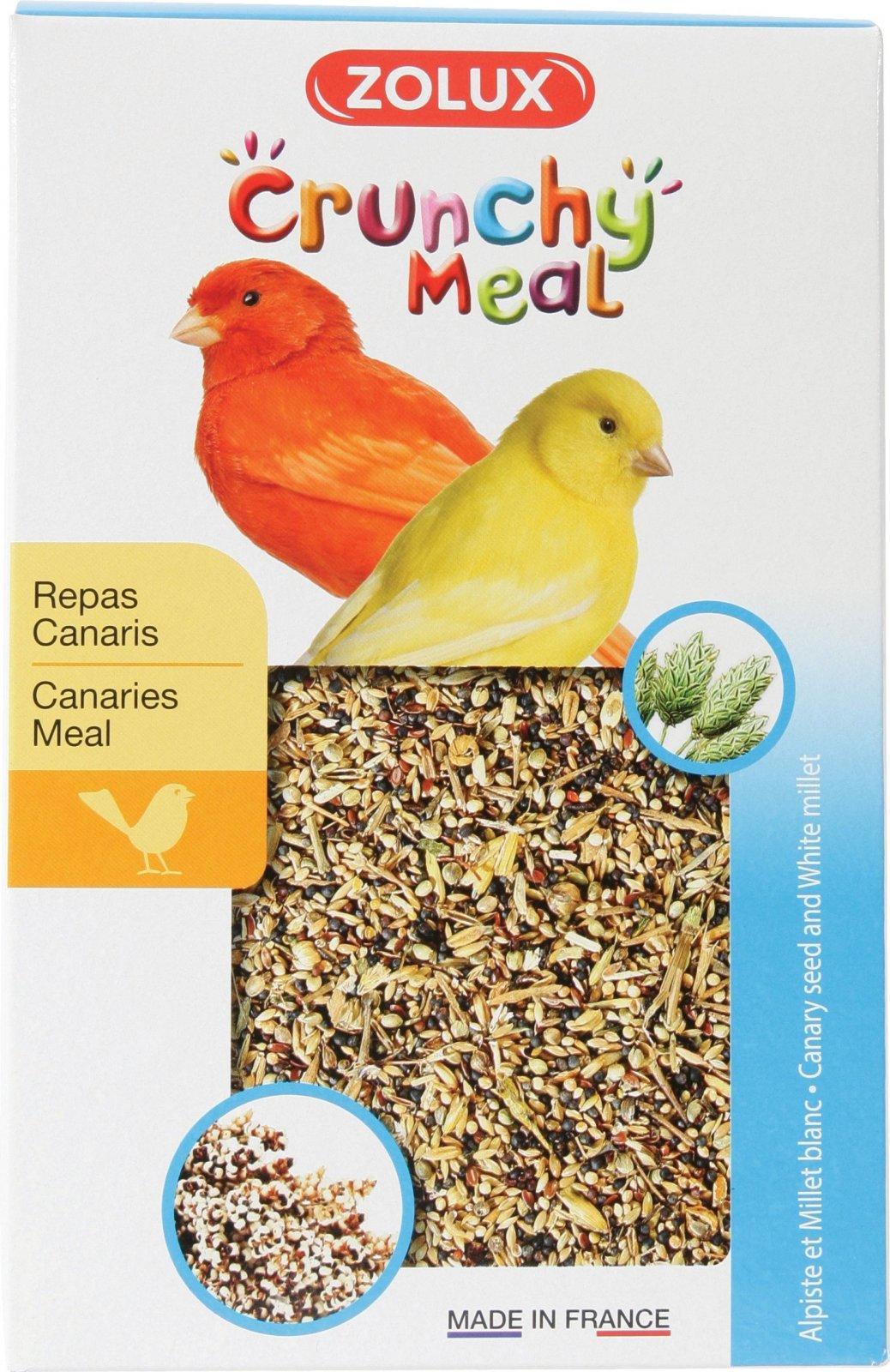 ZOLUX CRUNCHY MEAL pokarm dla kanarków 800 g
