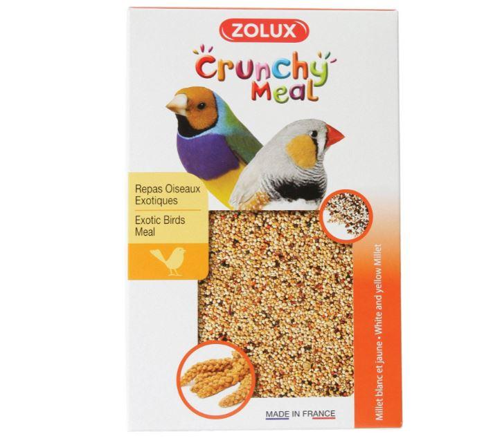 ZOLUX CRUNCHY MEAL pokarm dla ptaków egzotycznych 800 g