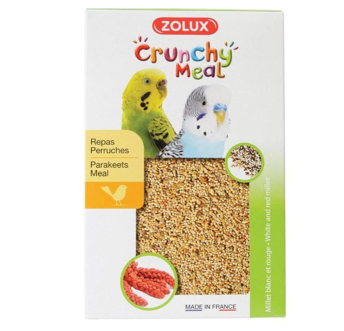 ZOLUX CRUNCHY MEAL pokarm dla papużek 800 g