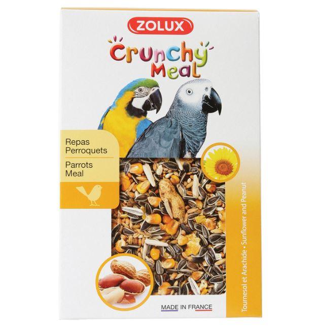 ZOLUX CRUNCHY MEAL pokarm dla dużych papug 800 g