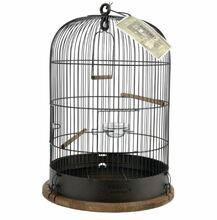 ZOLUX Klatka Retro Lisette dla ptaków, kolor czarny