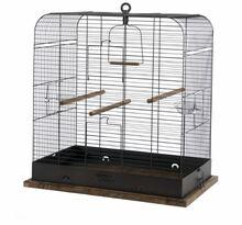 ZOLUX Klatka Retro Madel dla ptaków, kolor czarny