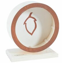 ZOLUX Drewniane koło dla gryzoni RodyPlay orzech