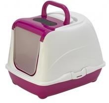 Pet Nova CAT LIFE PLUS - Toaleta dla kota 50cm, kolor różowy