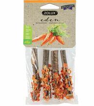 ZOLUX EDEN Drewniane patyczki z marchewką - przysmak dla gryzoni 36g