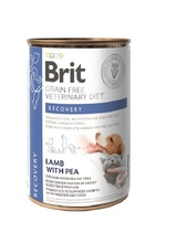 BRIT Grain Free Veterinary Diet Recovery 400g - mokra karma dla psa i kota
