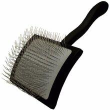 Chris Christensen Big K Large Slicker Brush - duża szczotka pudlówka, czarna