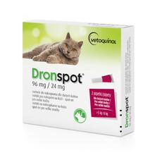 BAYER DRONSPOT - Preparat przeciwpasożytniczy dla kotów dużych 5-8kg