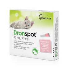 BAYER DRONSPOT - Preparat przeciwpasożytniczy dla kotów małych do 2,5 kg
