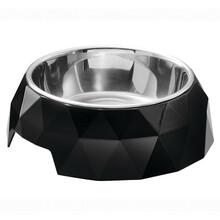 HUNTER Kimberley melaminowa miska dla psa w kolorze czarnym